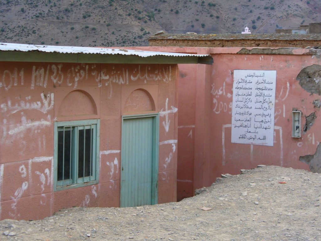 Visiting a Berber village in Morocco