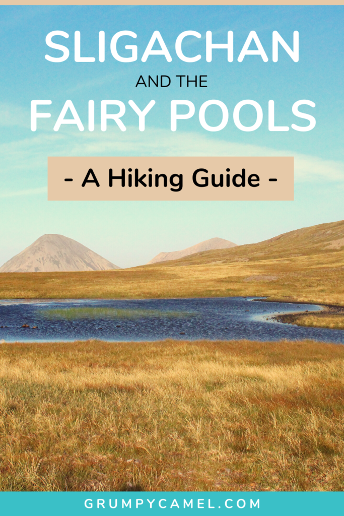 Hiking from Sligachan to the Fairy Pools