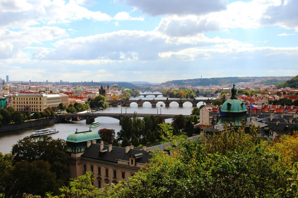 View from Letna Park, Prague
