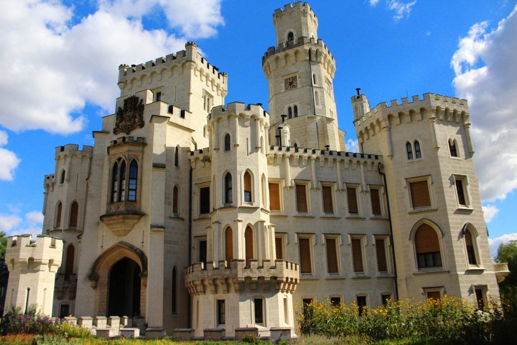 Hluboka Castle - Beautiful Places in Czech Republic