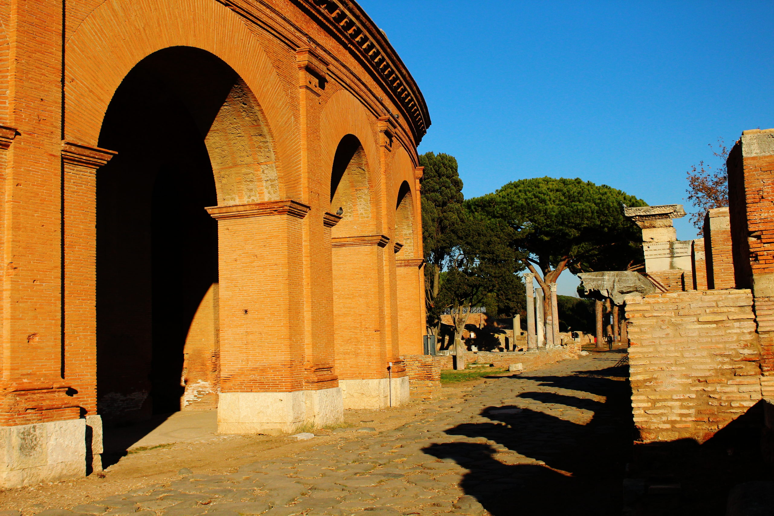 Visiting Ostia Antica from Rome