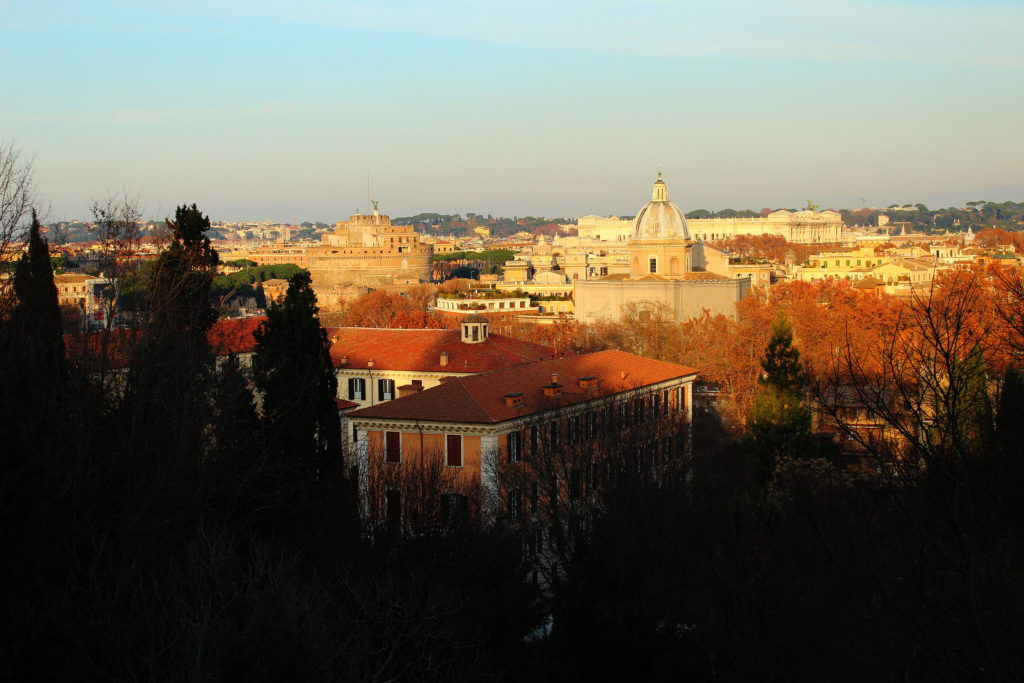The view from Gianicolo Hill, Rome