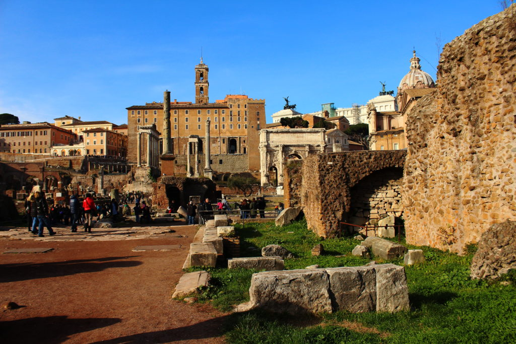 Roman Forum | 3 days in Rome itinerary