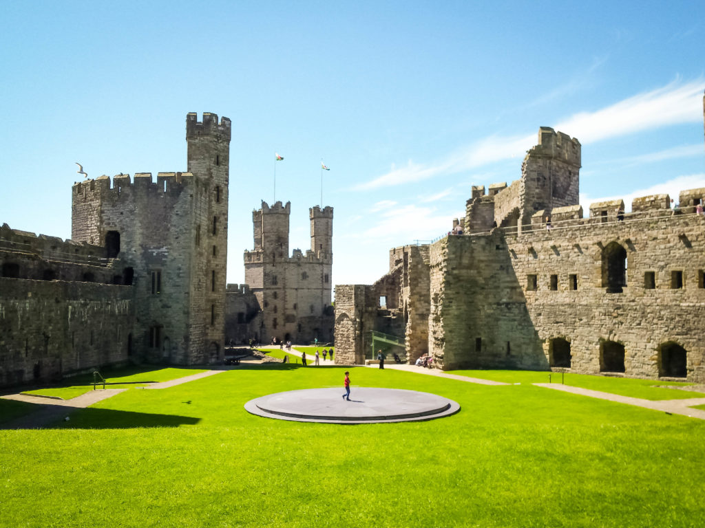 Caernarfon castle, Wales | Most Beautiful Castles in Europe