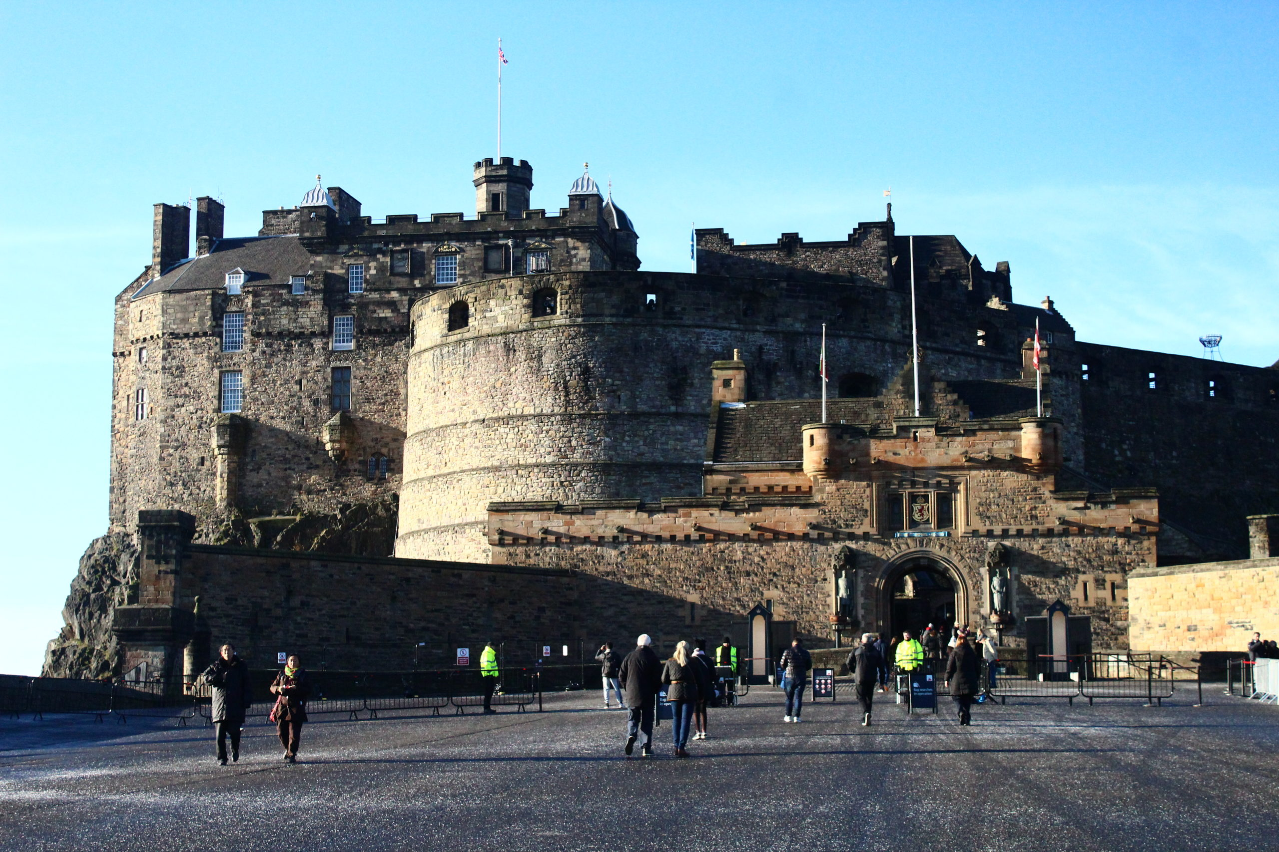 Edinburgh Castle | Most Beautiful Castles in Europe