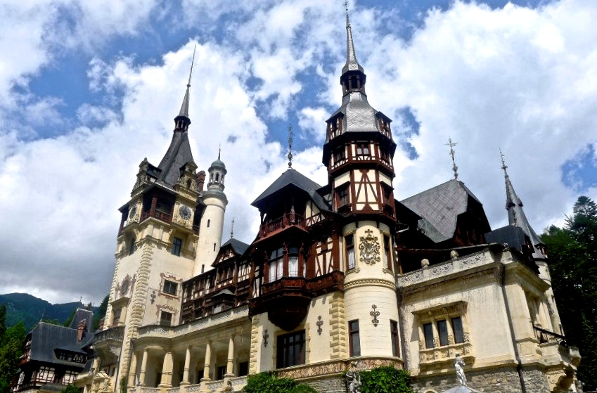 Peles Castle, Romania | Most Beautiful Castles in Europe
