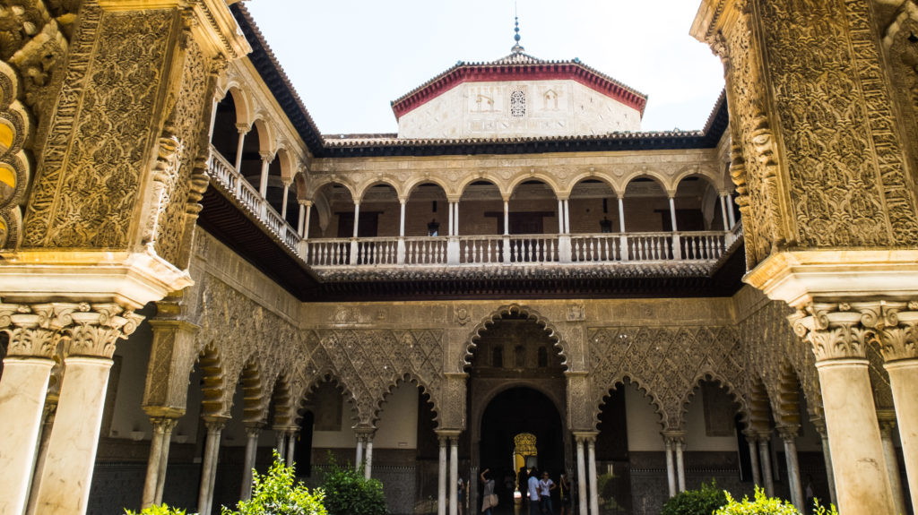 Royal Alcazar, Seville | Most Beautiful Castles in Europe