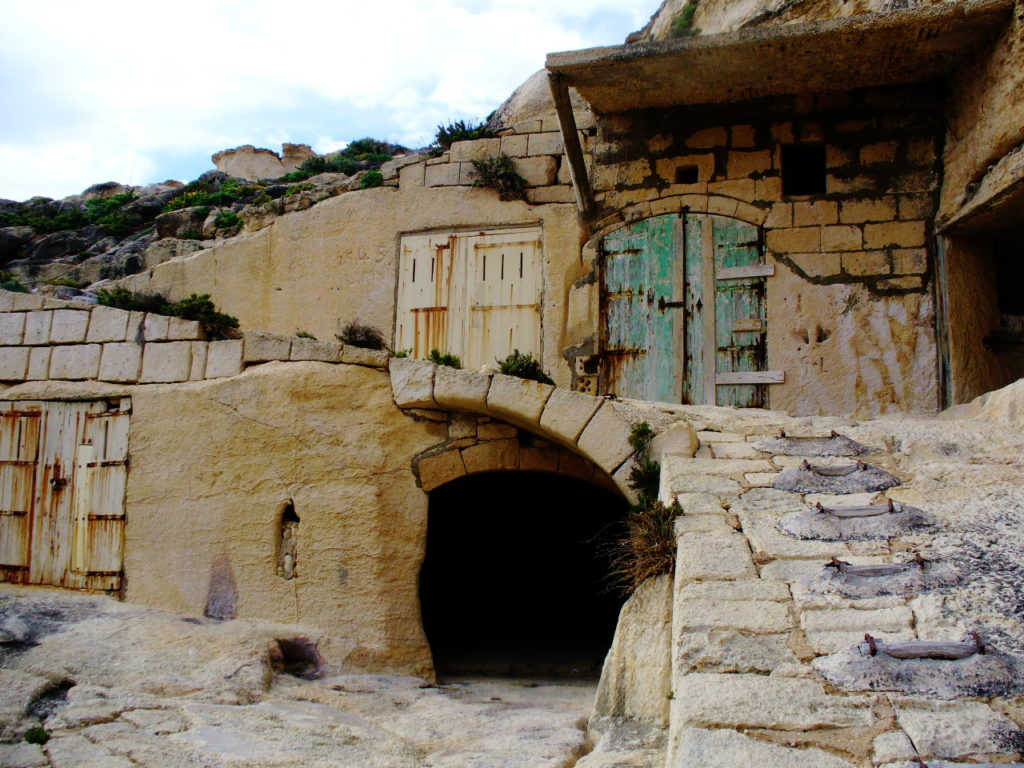 Dwejra Boathouses | Hidden Gems in Gozo