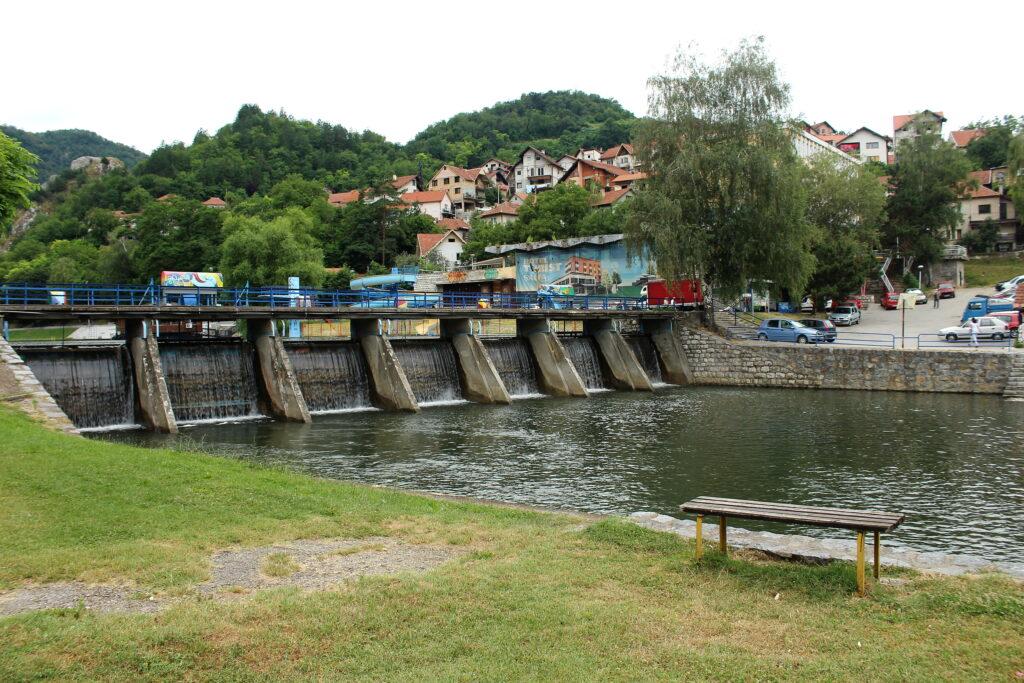 The Detinja River in Uzice
