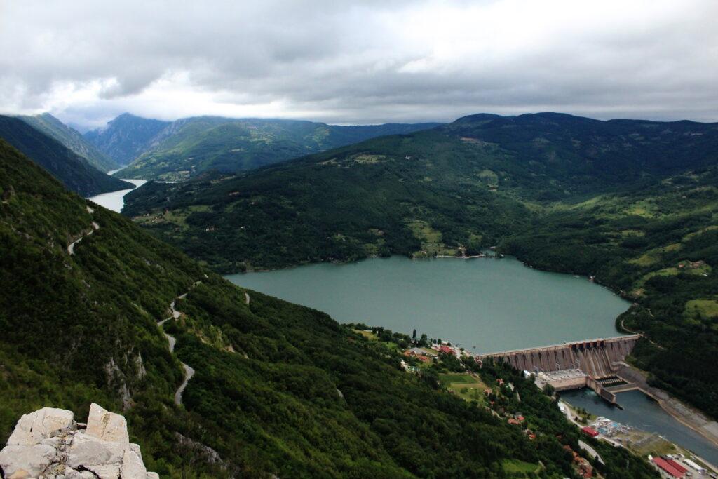 Perucac Lake   Off the beaten path in Serbia