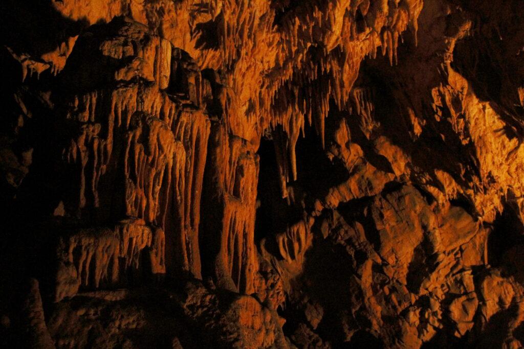 Inside Potpec Pecina Cave