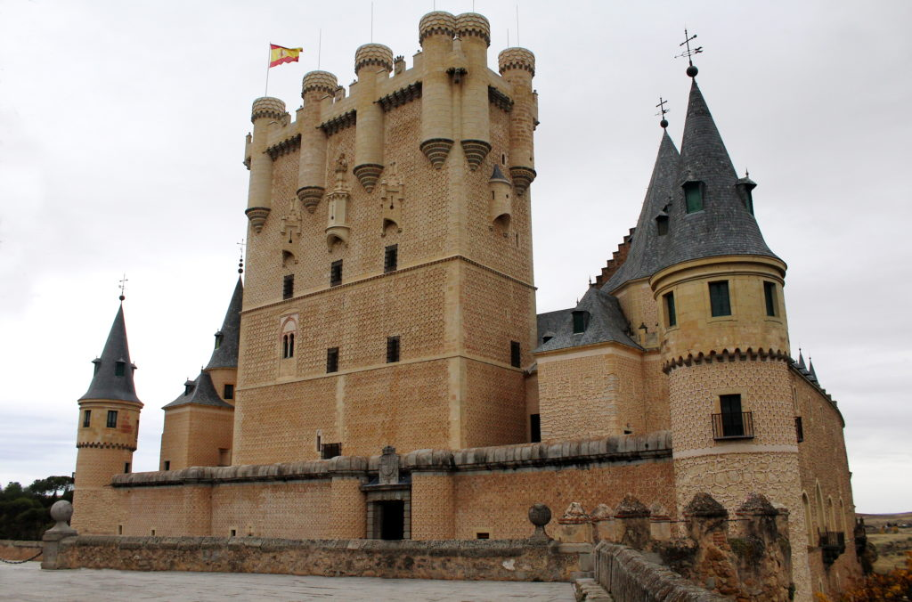 The Alcazar of Segovia, Spain | Tips for photographing castles