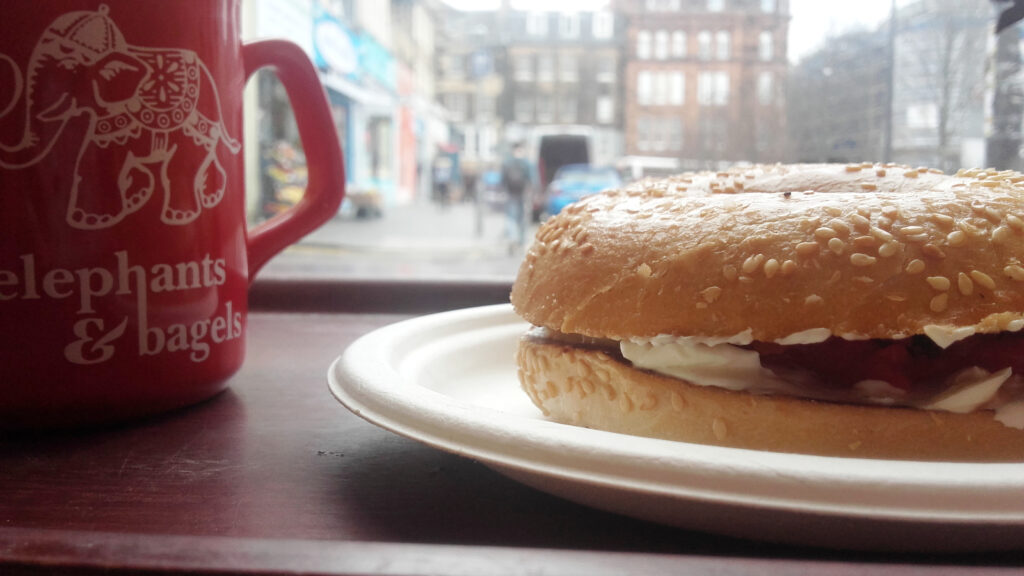 Elephants & Bagels | Best places for lunch in Edinburgh