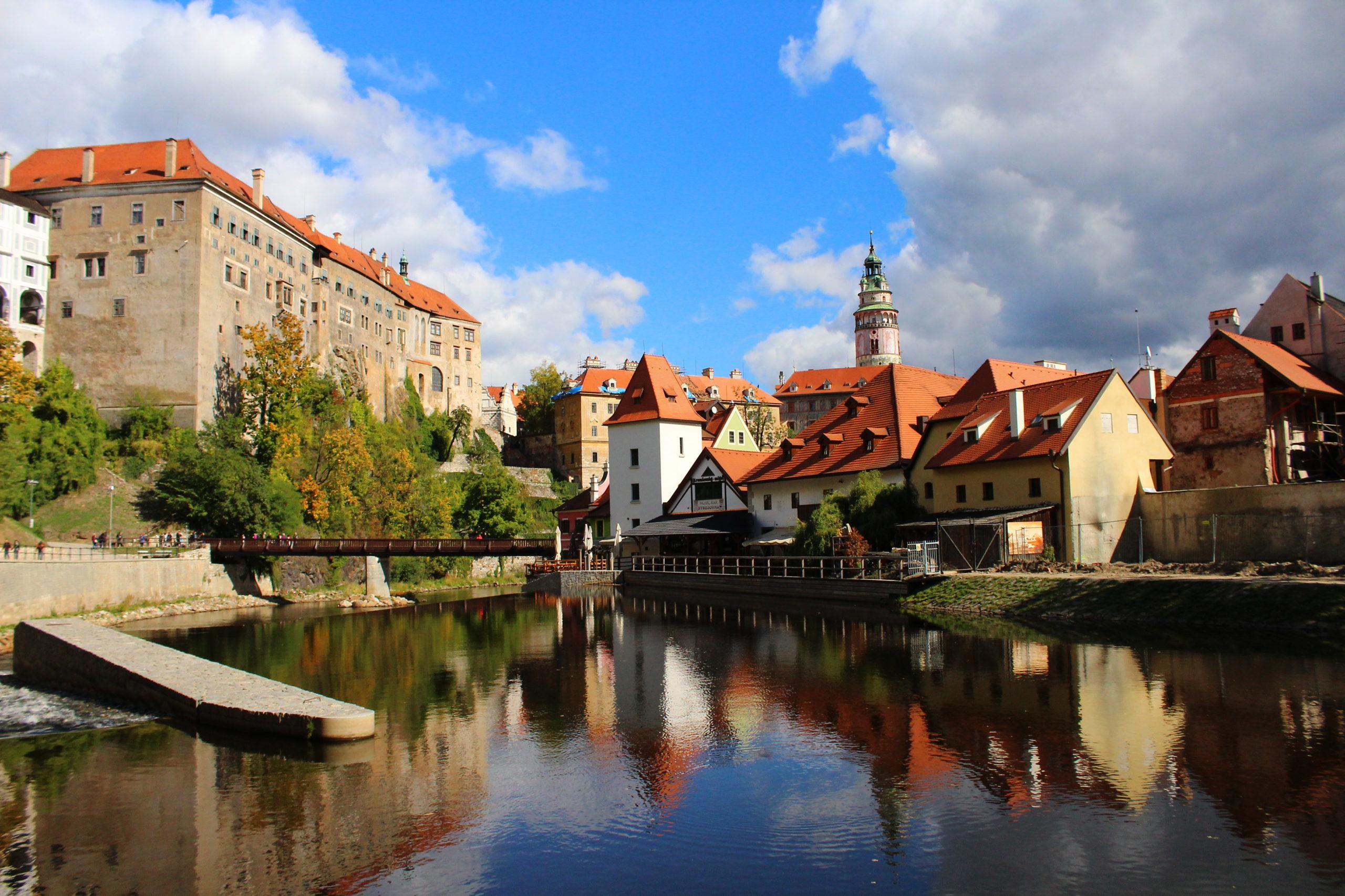 The Vltava River | Things to do in Cesky Krumlov