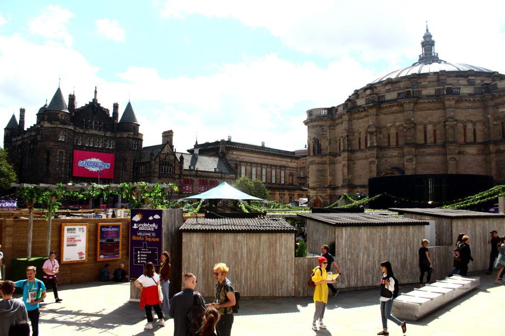 Edinburgh Fringe | Bristo Square