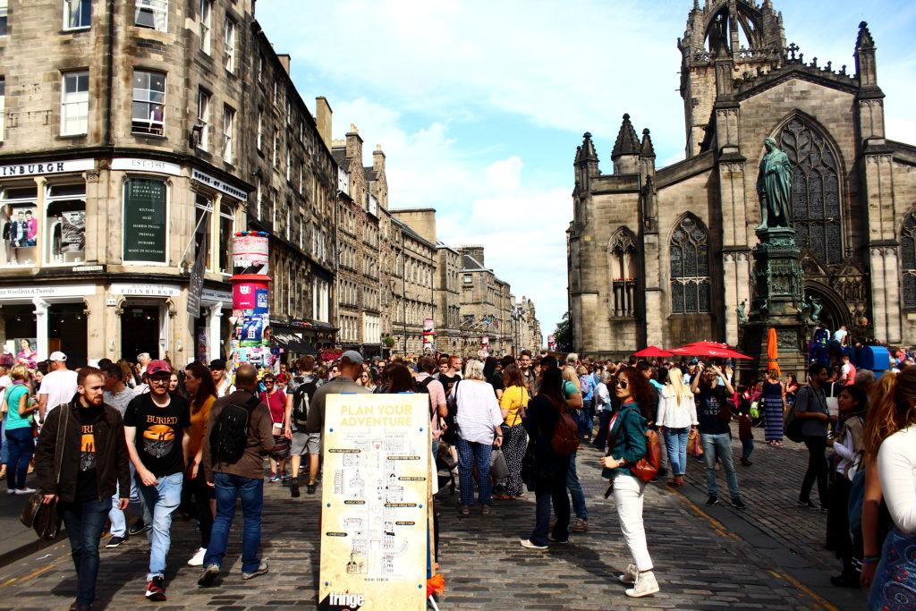 Edinburgh Fringe Festival | Royal Mile