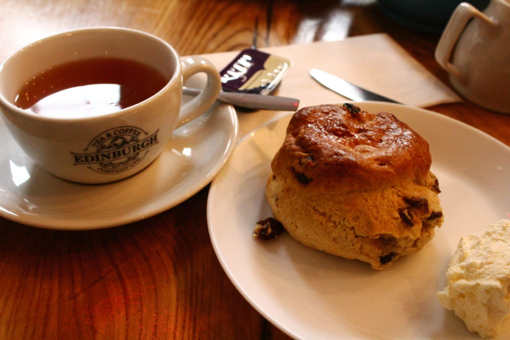 Tea and Scones | Edinburgh Food Tour