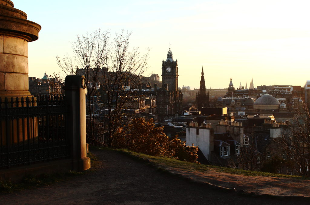 Calton Hill | Romantic things to do in Edinburgh