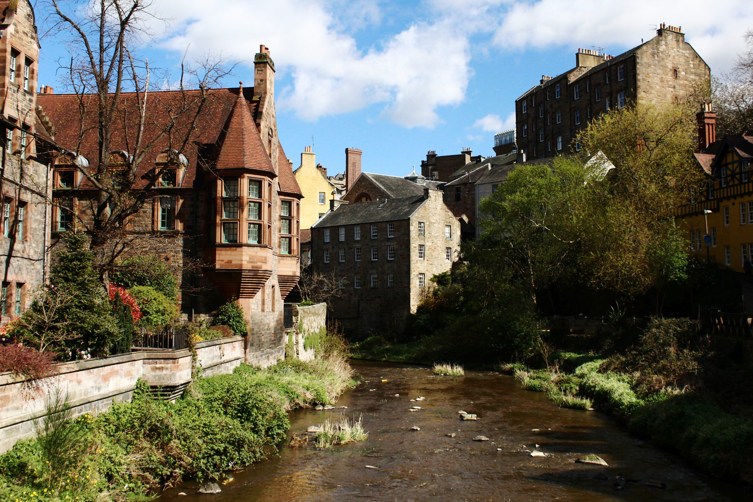 Dean Village | Romantic things to do in Edinburgh