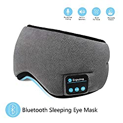 unique travel accessories | Bluetooth eye mask