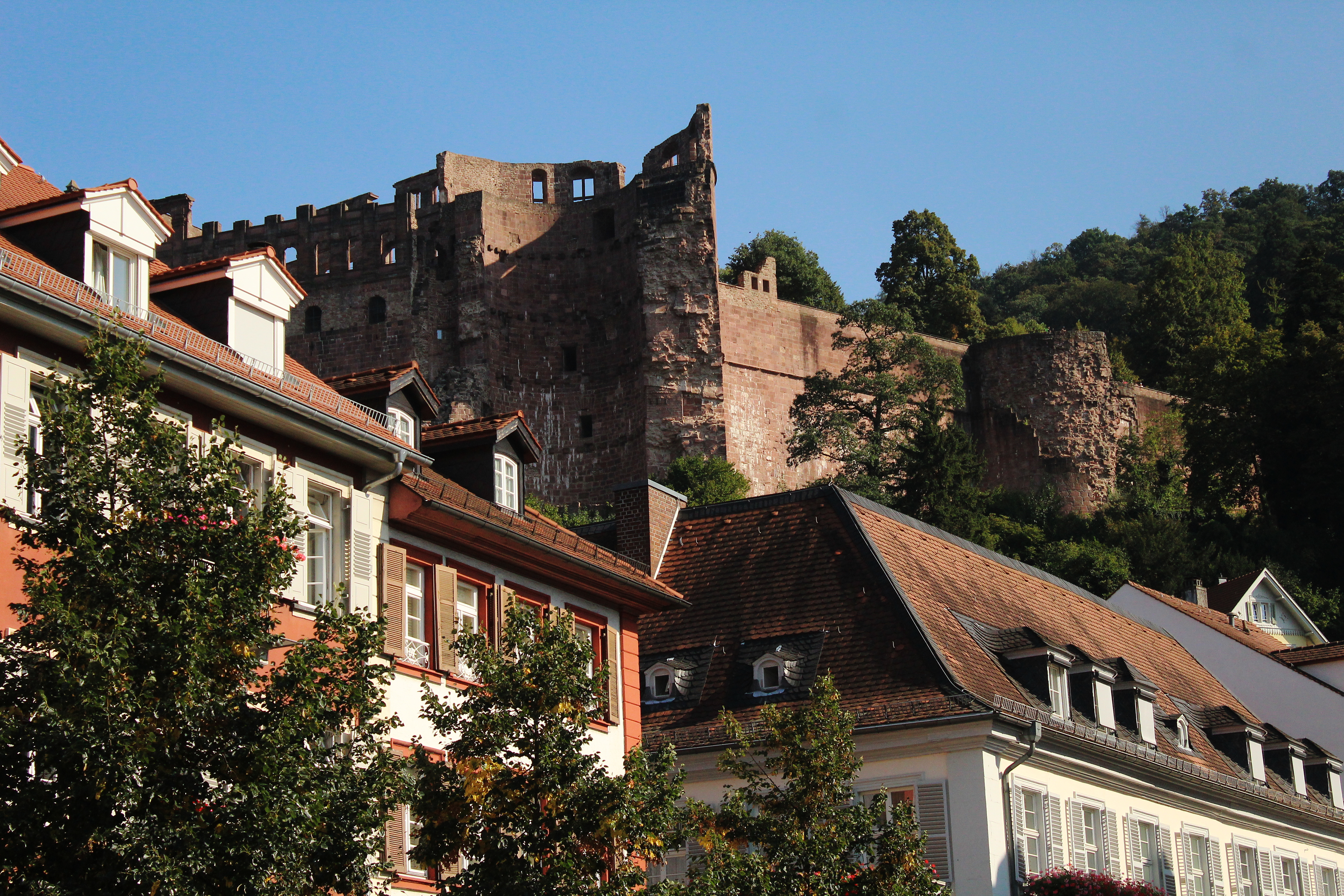 Heidelberg Castle is one of the most beautiful places in Germany