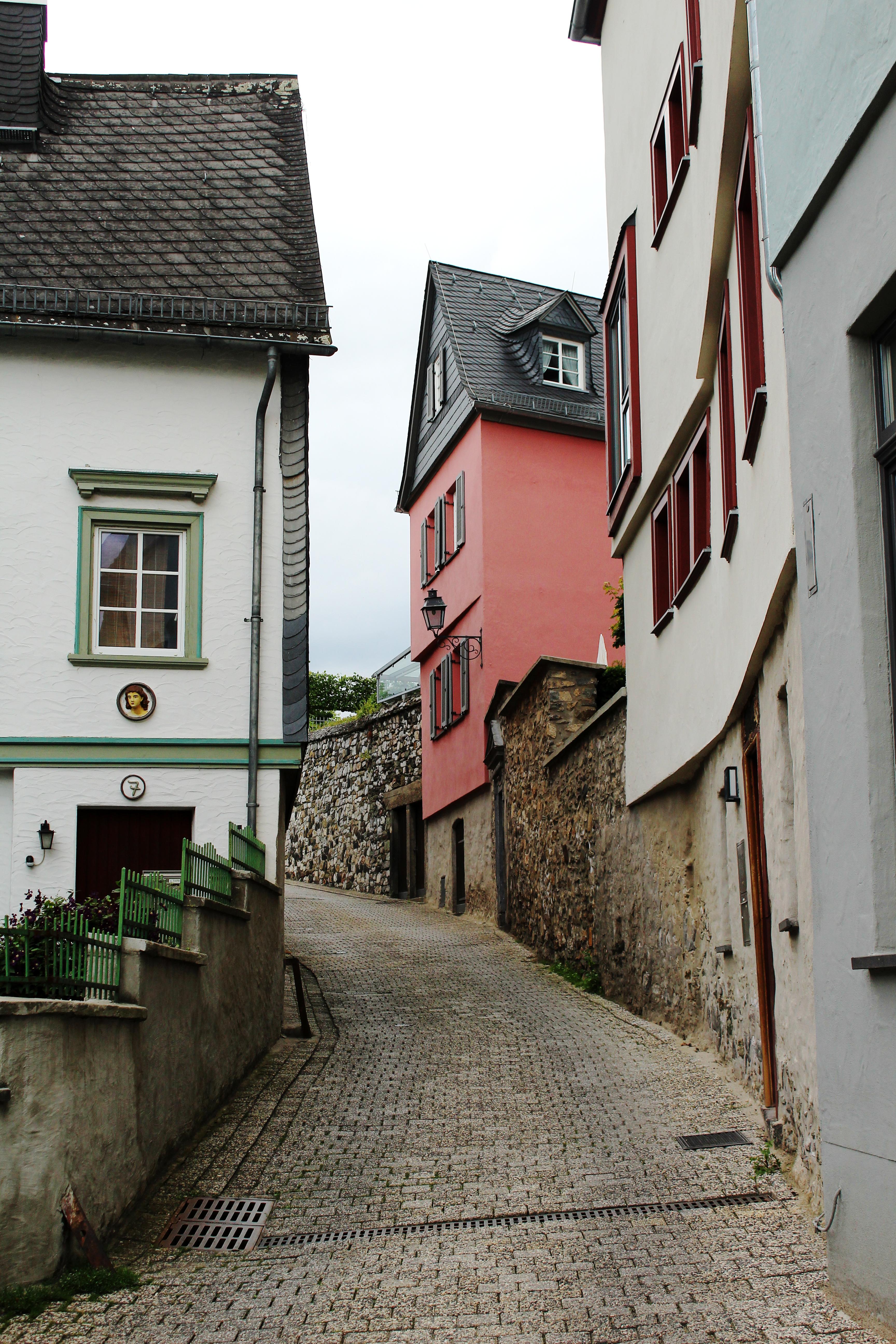 A beautiful street in Limburg.