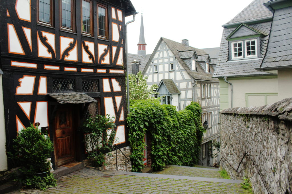 The old town of Limburg, Germany