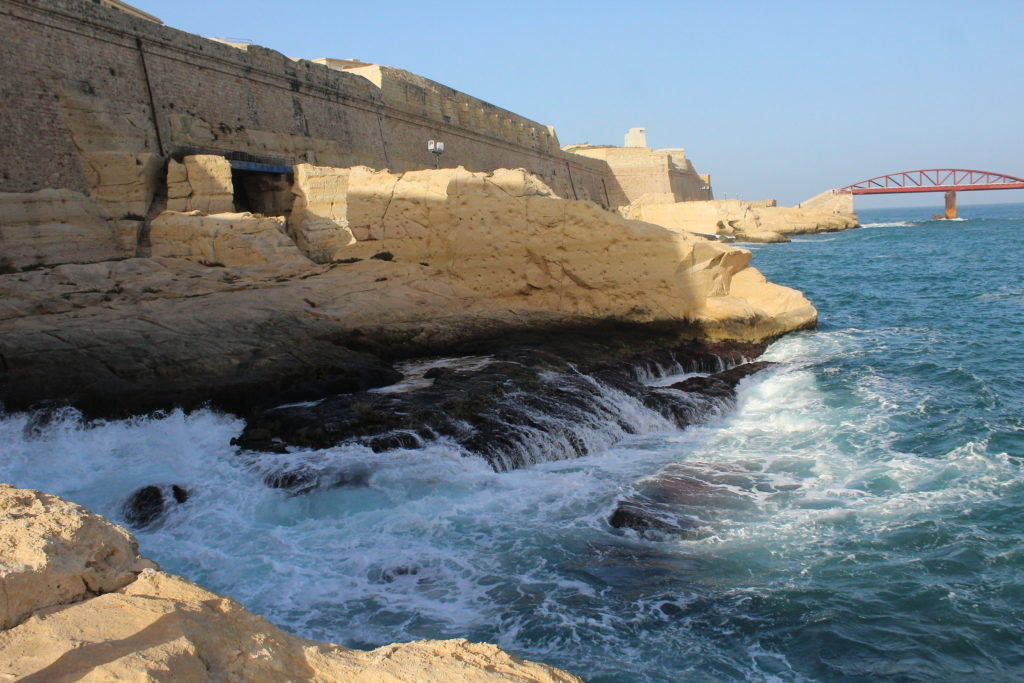 Valletta's coastline | Things to do in Valletta