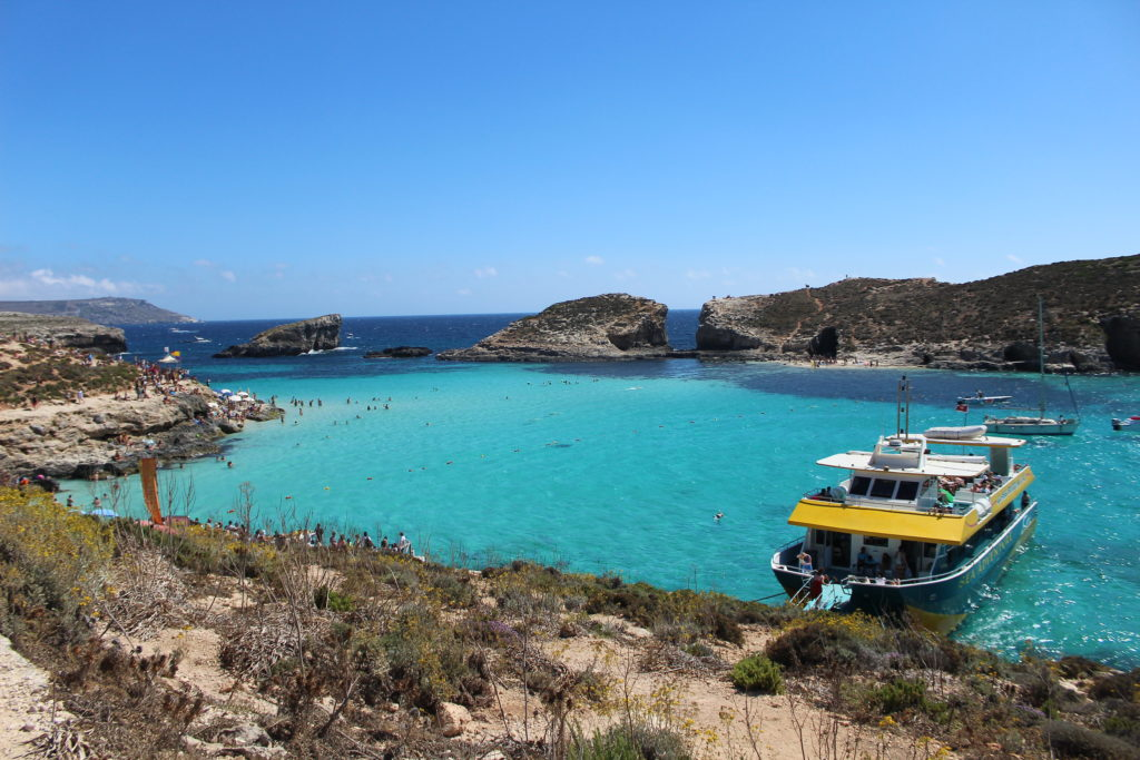 Blue Lagoon, Comino | Most beautiful beaches in Malta