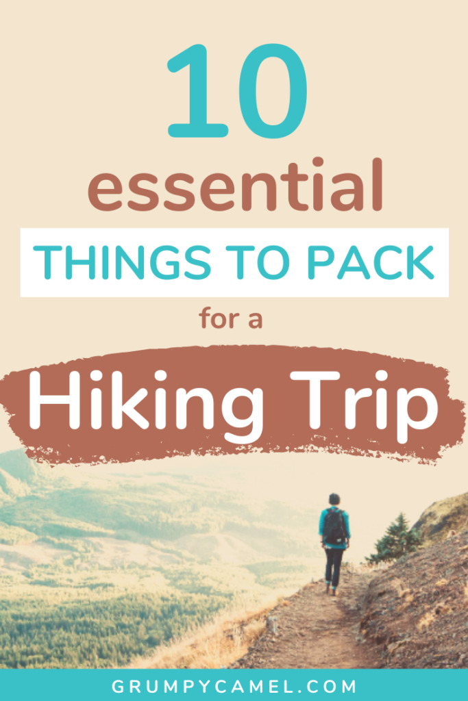 what to pack for hiking trip