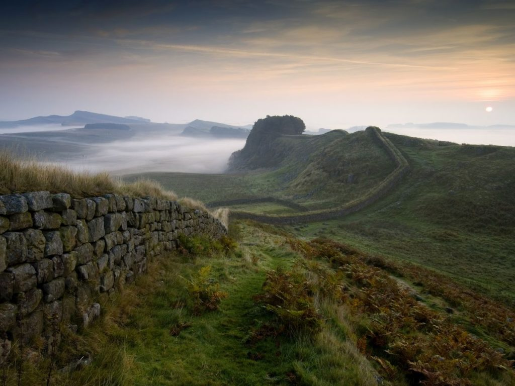 Hike Hadrian's Wall | Best UK staycation ideas