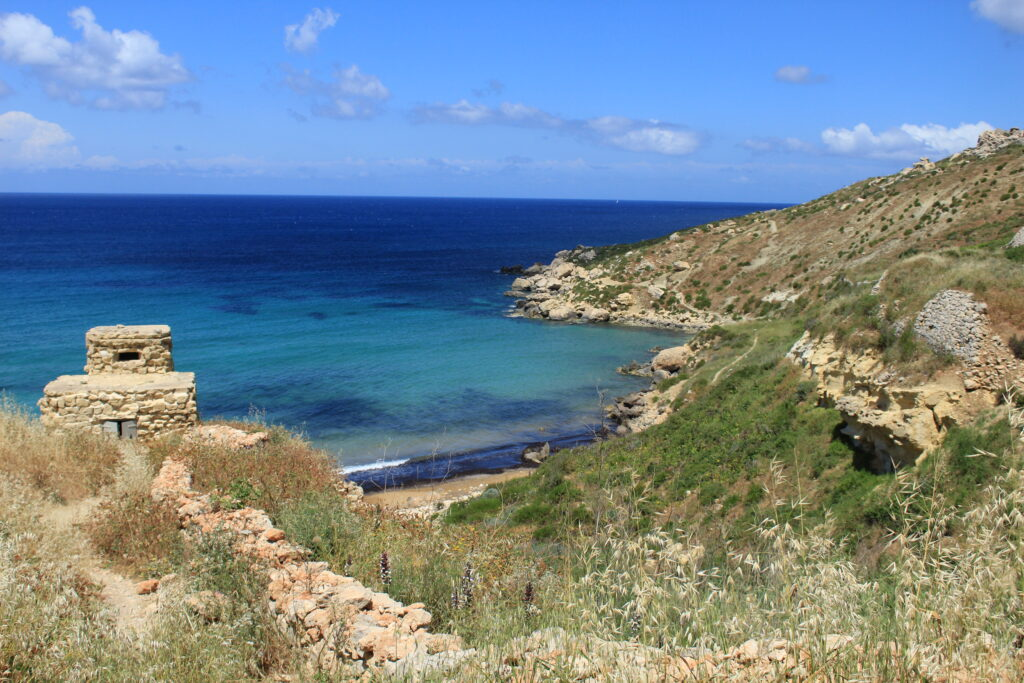 Mgiebay Bay | Best beaches in Malta