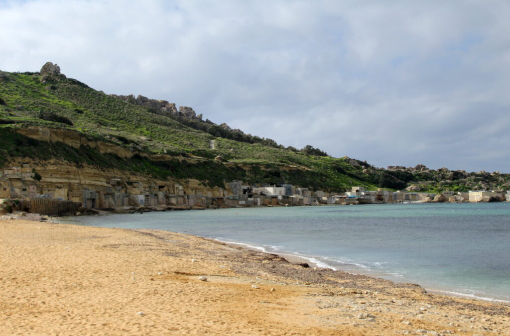 Gnejna Bay | Best beaches in Malta