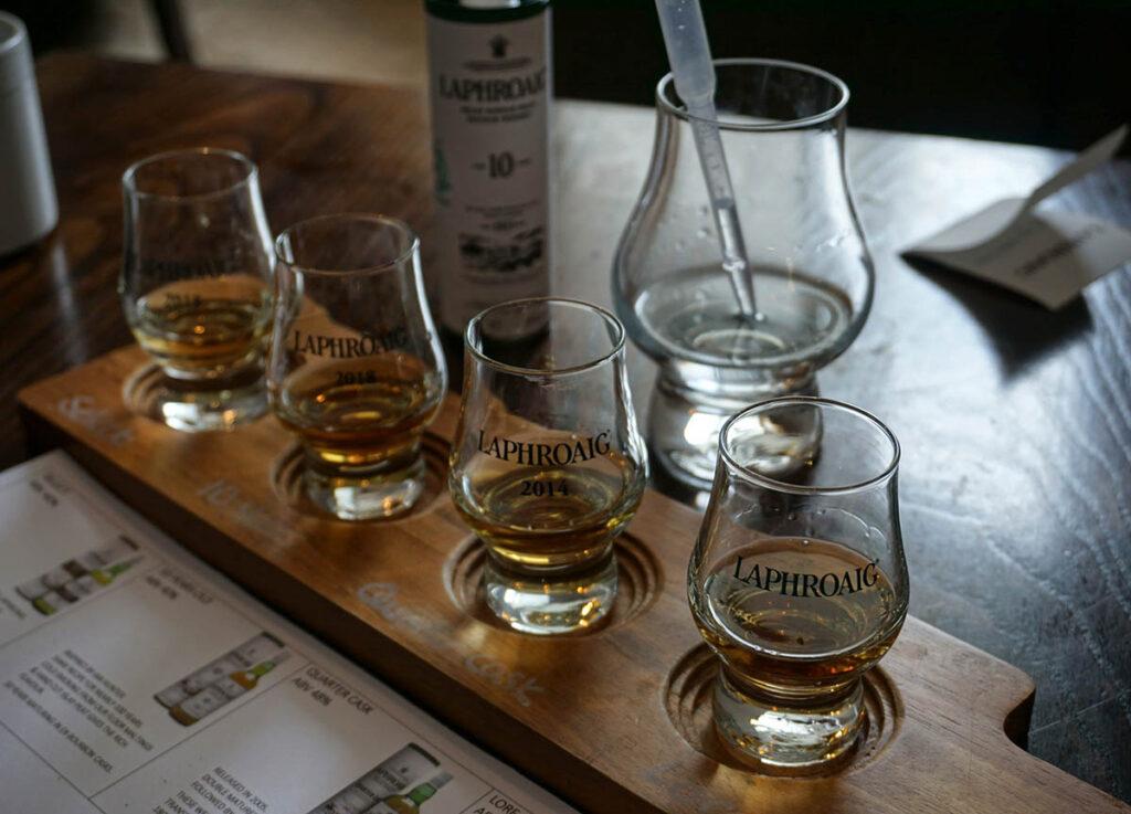 Whisky Tasting in Islay
