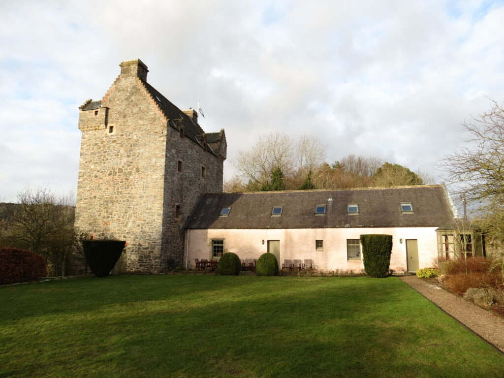 Staying in a peel tower in the Scottish Borders | Scotland staycations